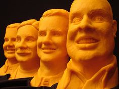 SK CEO Busts by Sarah The Cheese Lady, via Flickr