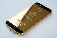 Gold & Co. has released a series of modified iPhone 5s models covered in real 24-Karat Gold,  rose-colored gold and platinum. Since people in Middle Eastern countries love gold stuff, these phones will be unveiled first at the World Luxury Expo in Abu Dhabi. The gold iPhone 5S will get a price tag of about $5,000, with the rose gold iPhone 5s for $5,300 and the platinum for $5,500