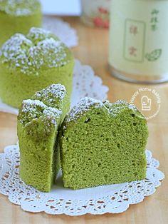 matcha yoghurt chiffon cupcakes   Happy Home Baking   Bloglovin'