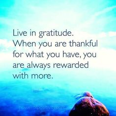 Live in gratitude. #bethankful #sunstoneholistic #sunstonehealth