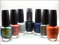 Review: OPI The Amazing Spider-Man Collection - Wow. I think I need Just Spotted the Lizard, Number One Nemesis, and Call Me Gwen-Ever.