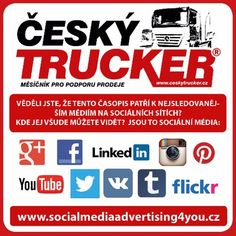 CZECH TRUCKER – a magazine for promoting sales of trucks and commercial vehicles - buses - delivery vans - trailers - municipal and handling equipment – container carriers - construction and. Mobile Marketing, Internet Marketing, Online Marketing, Social Media Marketing, Digital Marketing, Tata Motors, Show Trucks, Used Trucks, Lifted Trucks