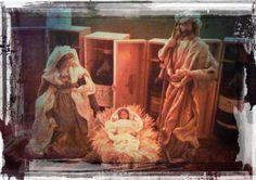 """Presepe / The Holy Family - """"In vino veritas"""""""