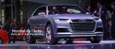 Event Report: Paris Motor Show, Audi Perspective