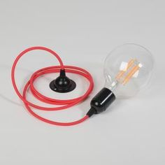 Trainspotters.co.uk - LED filament globe bulb pendant light.