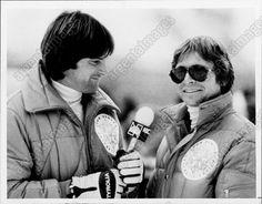 1982 John Denver NBC Sportscaster Bruce Jenner TALKING Press Photo