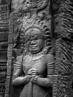 Ancient Temple, Siem Reap, Cambodia.