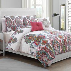 Geneva Home Melisenta 5 Piece Comforter Set & Reviews | Wayfair