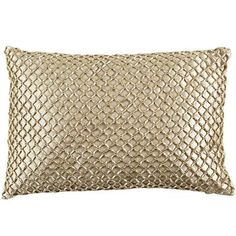 Metallic Beads Lumbar Pillow