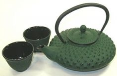 This is the tetsubin teapot, color and style, that I chose for myself several years ago..I proudly display it, and love using it.