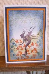 lavinia stamps challenge Fairy Gardener - Margaret Rogers