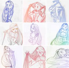 Rapunzel by Glen Keane
