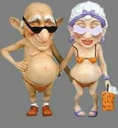 getting old jokes Vieux Couples, Old Couples, Growing Old Together, The Golden Years, Old Age, Getting Old, Old Women, Alter, Funny Photos