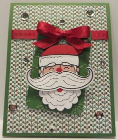 PP211-Santa Stache by dodge3670 - Cards and Paper Crafts at Splitcoaststampers