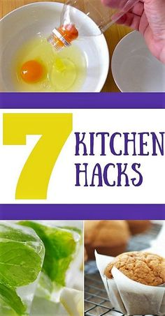 7 Absolutely Invaluable Kitchen Hacks