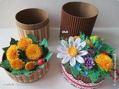 Упаковка Картонаж Квиллинг Маленькие круглые коробочки для подарочков 1 2 3 Бумага Бумажные полосы Картон Картон гофрированный фото 1
