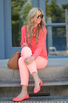 Head to Toe Brights. I adore this outfit!! By far one of my faves!
