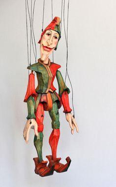 Jester Puppet.