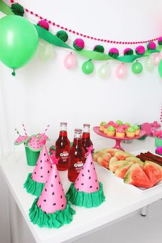 August 3rd- National Watermelon Day!   Can't wait to through a Watermelon party:)