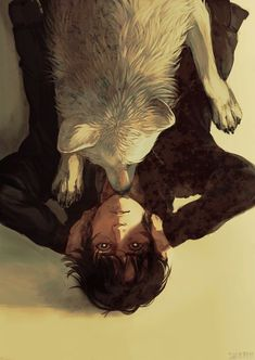 The Art Of Animation wolf and boy Fantasy Kunst, Fantasy Art, Character Inspiration, Character Art, Character Concept, Estilo Anime, Art And Illustration, People Illustration, Art Inspo