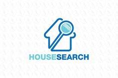 House Search - $250 (negotiable) http://www.stronglogos.com/product/house-search #logo #design #sale #real #estate #house #listing #search #technology #web #app
