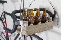 Vélo / bike Single Speed Caisse Bière / Beer Wine Rack, Culture, Storage, Furniture, Home Decor, Crate, Purse Storage, Decoration Home, Room Decor