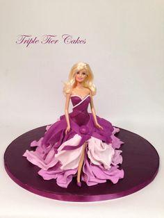 Barbie Doll Cake - Cake by Triple Tier Cakes