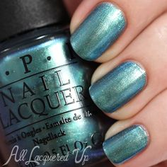 OPI This Color's Making Waves swatch - Spring 2015 Hawaii via @alllacqueredup