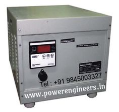 Buy best #IndustrialServoVoltageStabilizers  from our #Manufacturers,Powerengineers is an 9001:2008 certified company.