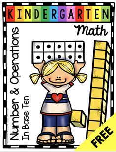 FREEBIE Kindergarten Math Poster - Teen Numbers and Place Value Binder Cover - Lesson Plans - Complete Math Unit with worksheets - math centers - assessments and FREE printables kindergartenmath teennumbers placevalue kindergarten 101612535329175087 Kindergarten Freebies, Numbers Kindergarten, Kindergarten Posters, Kindergarten Addition, Teen Numbers, Math Numbers, Decomposing Numbers, Math Binder, Teachers Pay Teachers Freebies