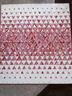 Trifecta Quilt - digital pattern available - Fons & Porter