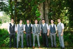 groomsmen | photos by Arrow and Apple | 100 Layer Cake