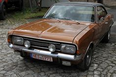Opel Commodore GS Reliable Cars, Top Cars, Vintage Cars, Classic Cars, Bike, Hot Rods, Vehicles, Passion, Pictures