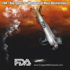 FDA publicly challenged to support unsubstantiated claims regarding electronic cigarettes