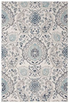 Madison Collection 4' X 6' Rug in Cream And Light Grey - Safavieh MAD600C-4