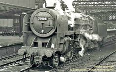 70008, Black Prince, Britannia Class locomotive