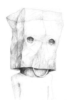 Unique drawings by Stefan Zsaitsits Art Inspo, Kunst Inspo, Inspiration Art, Art And Illustration, Creepy Drawings, Unique Drawings, Drawing Sketches, Pencil Drawings, Art Drawings