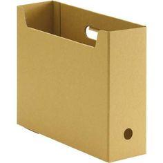 カウネット ファイルボックス(無地) A4横 10個