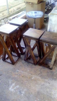 Twisted stools