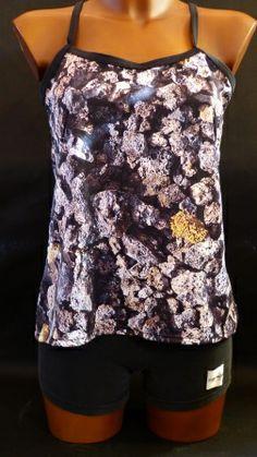 Camiseta tirantes Volcanica con tejido coolmax