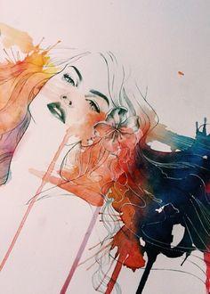 Kelogsloops watercolor art