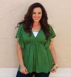 Cute top! love this site. a great for plus size girls