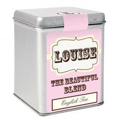 Pink Vintage Tea & Tin