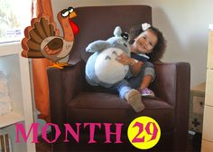 2 years & 5 months Monthly Photos, My Neighbor Totoro, 5 Months, How To Take Photos, I Movie, Plush, Nursery, My Favorite Things, Day Care