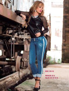 Pantalón Ref: 331 A Tallas: 6 - 8 - 10 - 12 - 14 Blusa: S - M - L - XL   $70.000 http://www.comercializadoravyp.com/site/