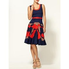 Milly dress.  At $375, I suppose I will have to wait until it's on the 90% off clearance rack...but I'm a patient girl.