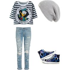 Untitled #11 by liliamperera on Polyvore featuring polyvore, fashion, style, Converse and UGG Australia
