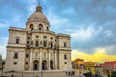 Igreja de sta Engracia - Lisboa Foto: Jack Sand