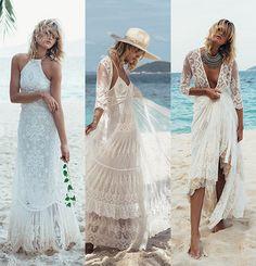 Spell dévoile sa première collection de robes de mariée dentelle crochet bohème boho gypset http://www.vogue.fr/mariage/adresses/diaporama/spell-dvoile-sa-premire-collection-de-robes-de-marie/22223
