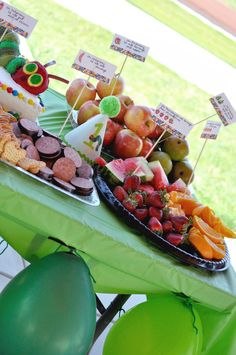 """Photo 10 of 14: The Very Hungry Caterpillar, by Eric Carle / Birthday """"Deegan's 1st Birthday"""" 